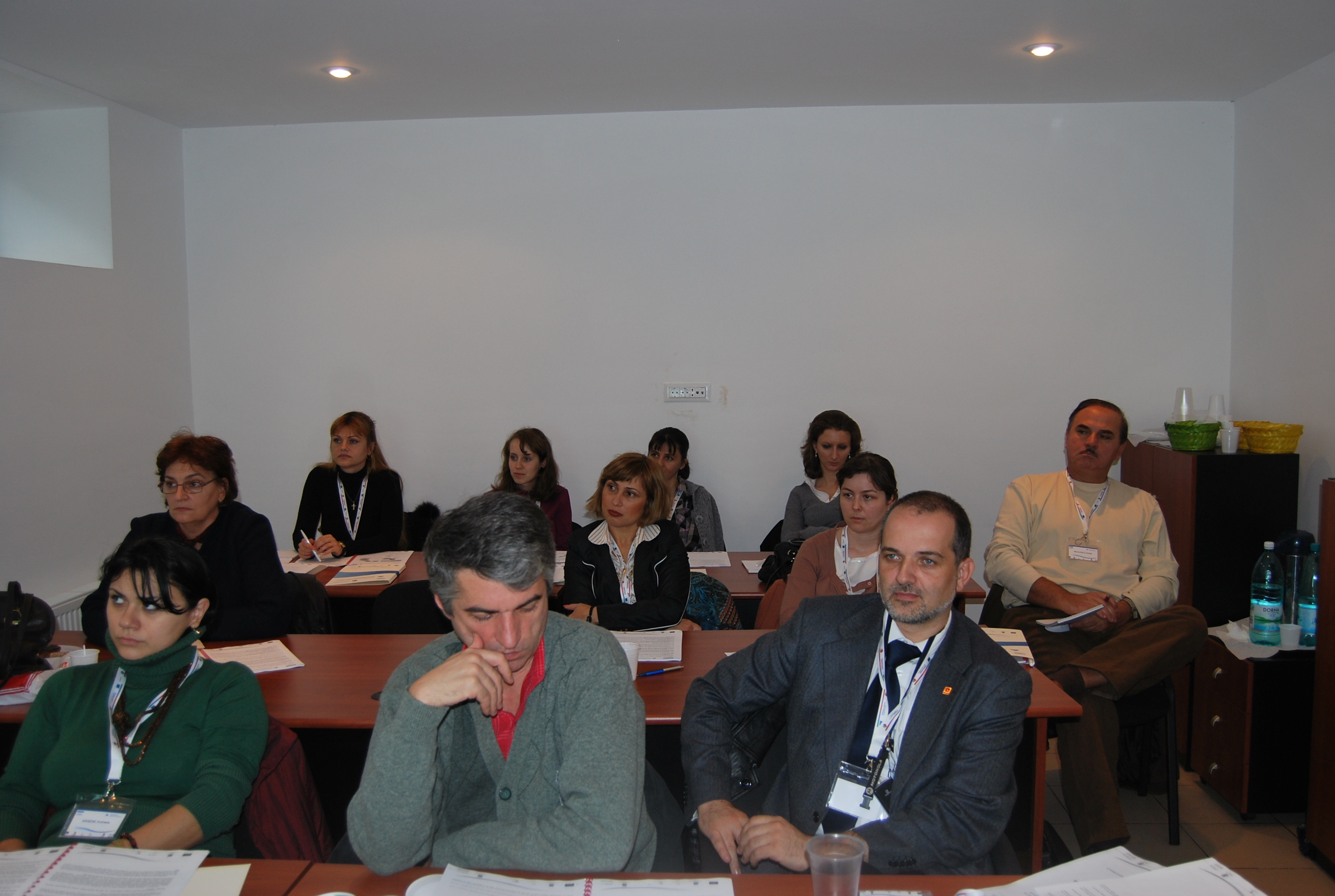 Training editorial 1, Bucuresti
