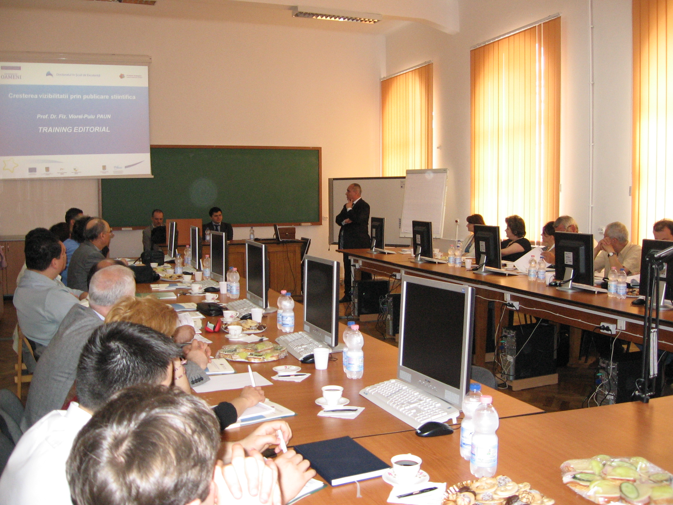 Training editorial 5, Iasi
