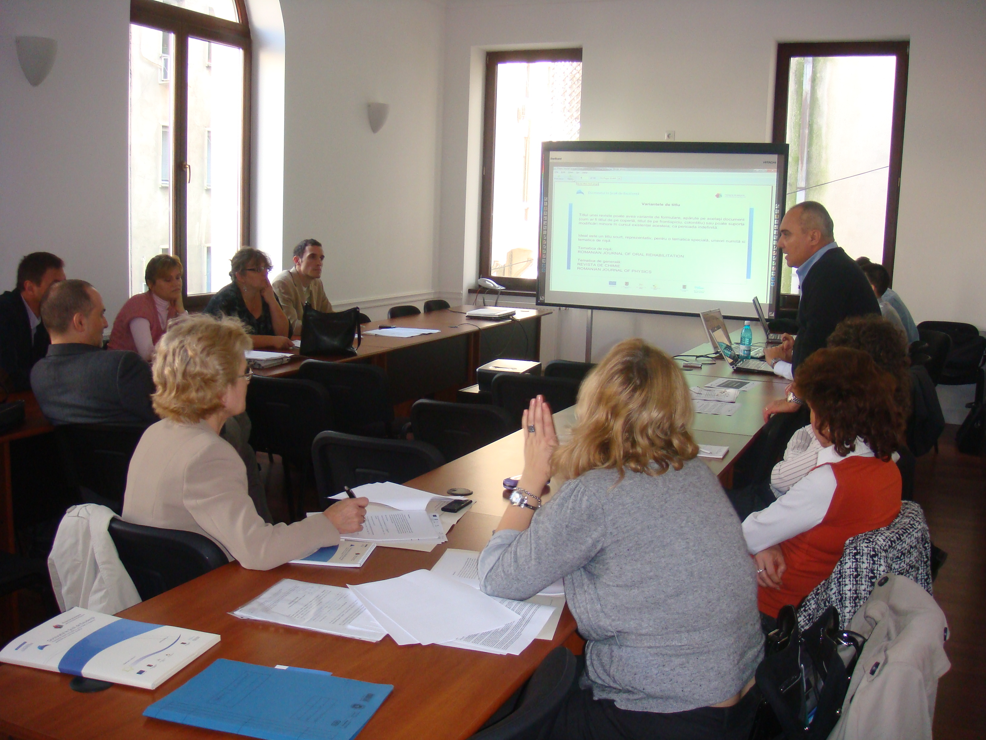 Training editorial 7, Bucuresti